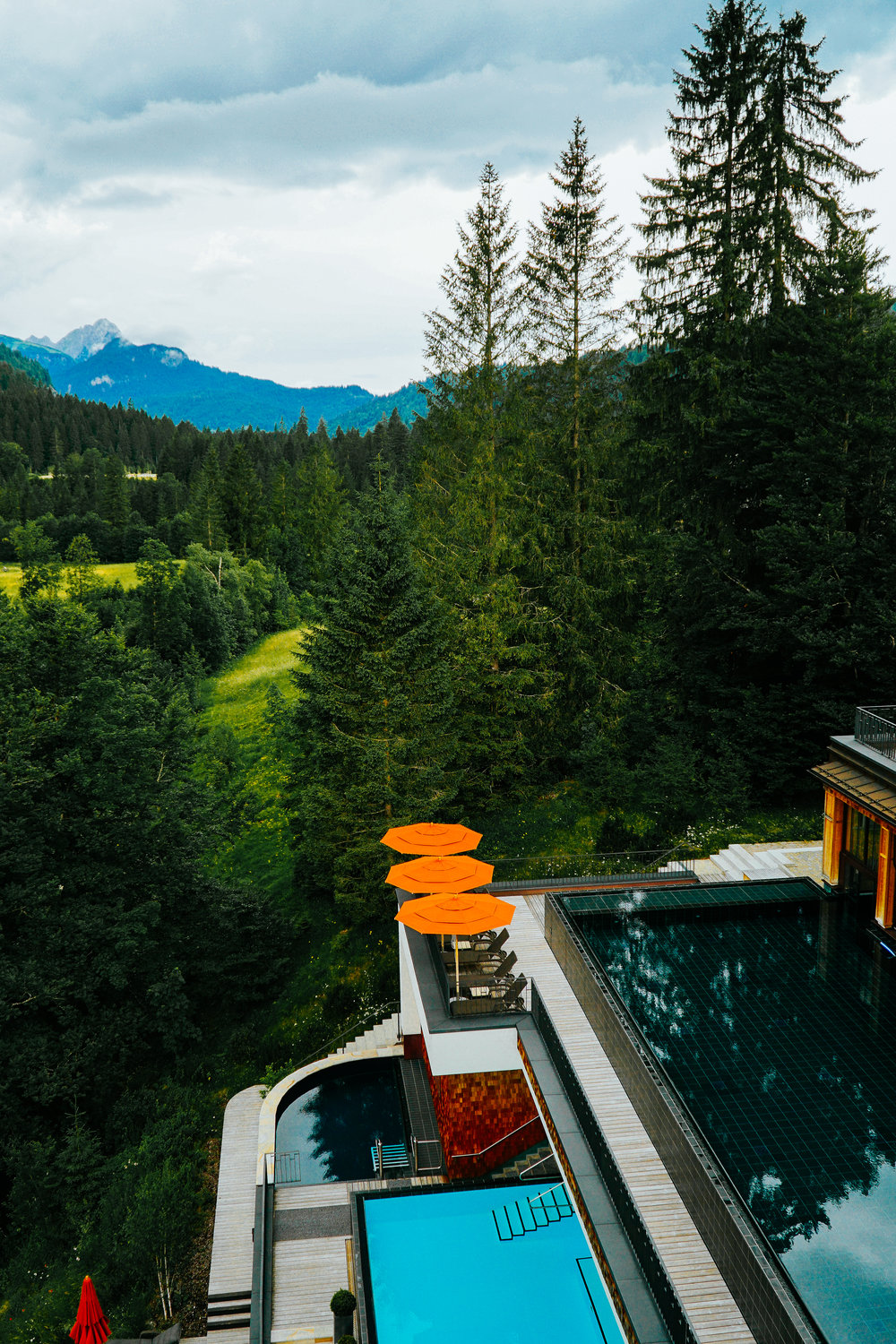 Julia Friedman stays at the Schloss ELmau in Germany | Bavarian Beauty System Professional
