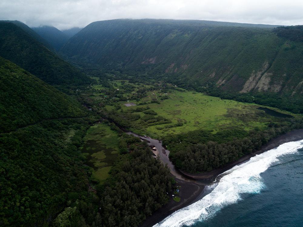 Hawaiian Magic | Julia Friedman's trip to Kona, Big Island Hawaii | Waipio Valley from a DJI Mavic.