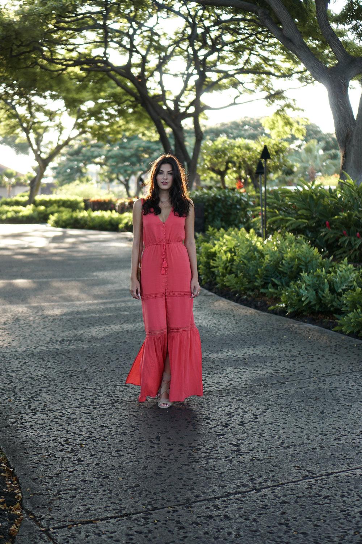 Hawaiian Magic | Julia Friedman's trip to Kona, Big Island Hawaii | Ale by Alesandra Dress from Revolve.