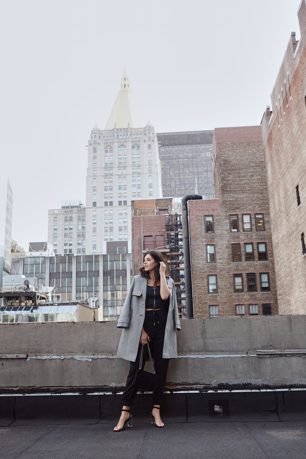 NYFW Recap #2 Julia Friedman at the Redbury NY wearing a Topshop coat.