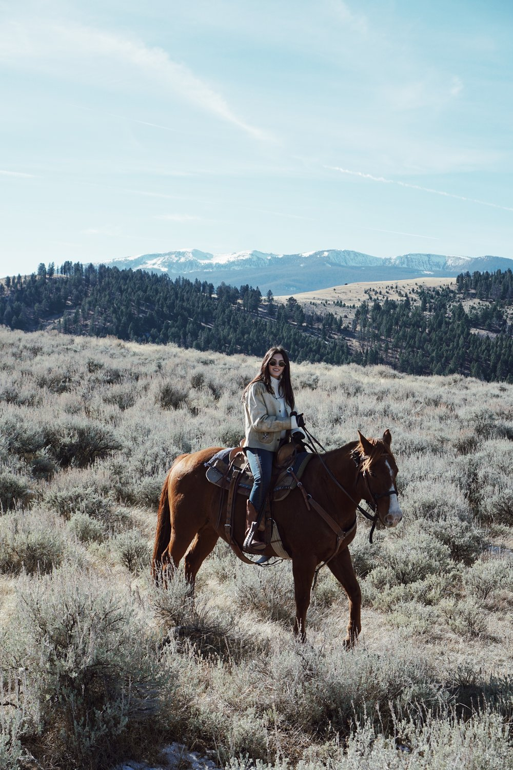 Horseback Riding | The Ranch at Rock Creek | A New Kind Of Paradise by Julia Friedman