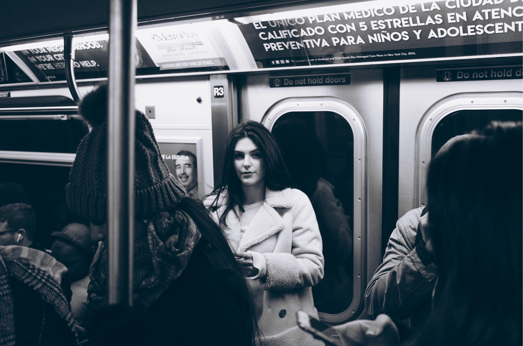 How to Practice Being Thankful Everyday | Julia Friedman on the Subway in New York City.