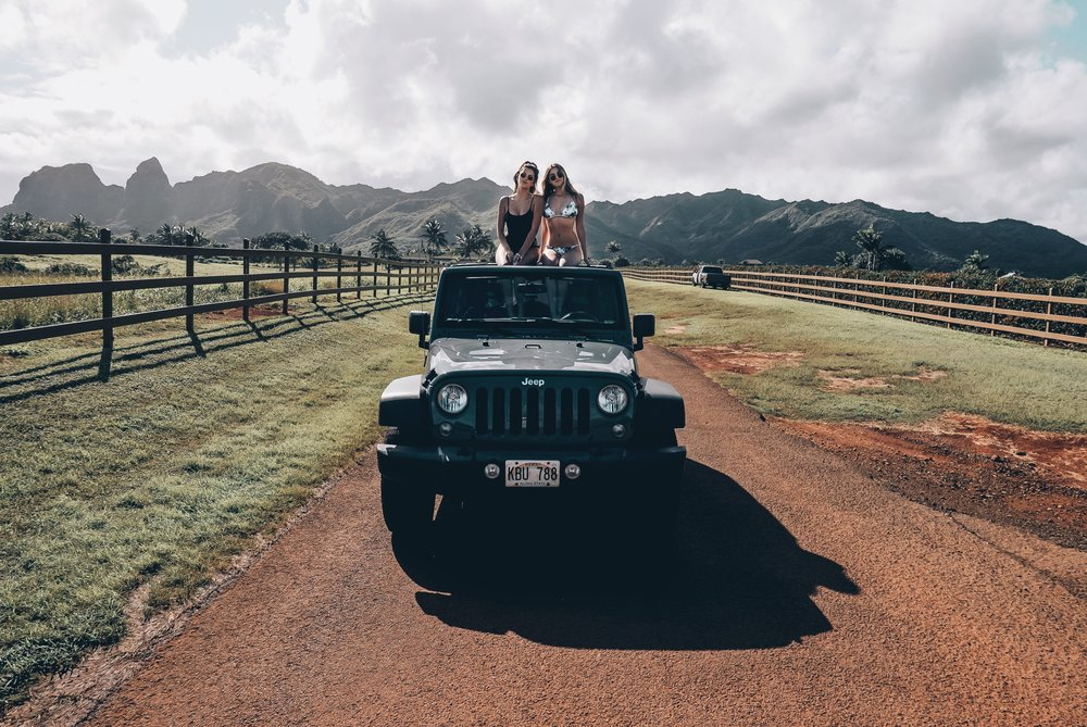 Kauai Travel Guide - Summer Travel Inso Jeep Wrangler