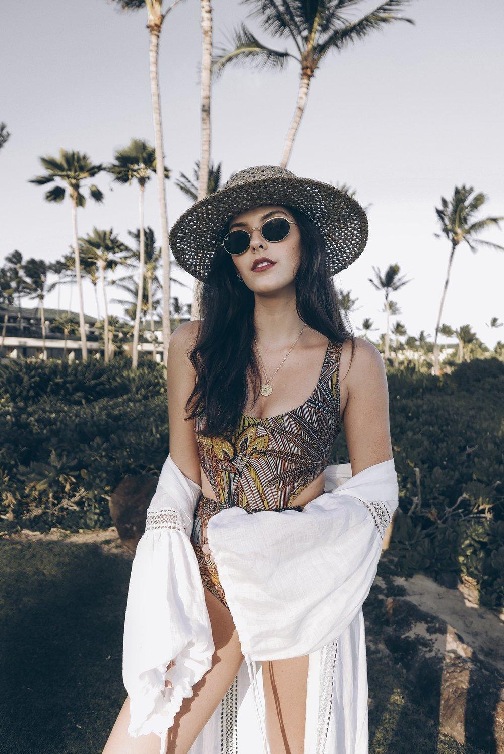 Boho Style L Space Swim - Kauai Travel Guide - Julia Friedman