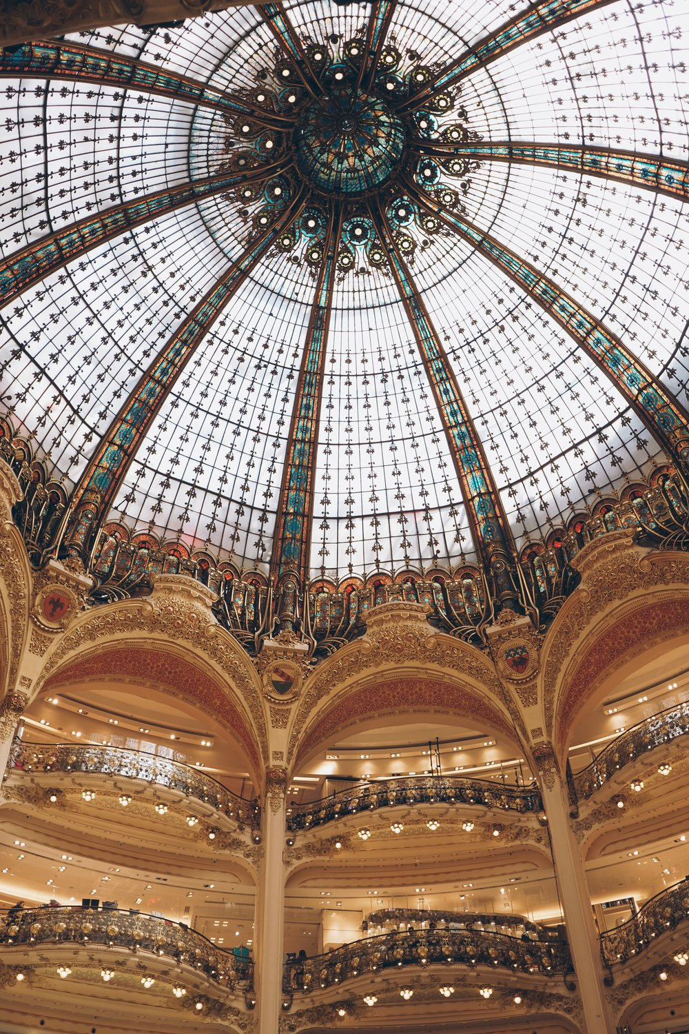 Julia friedman paris for the weekend sony alpha Galeries Lafayette