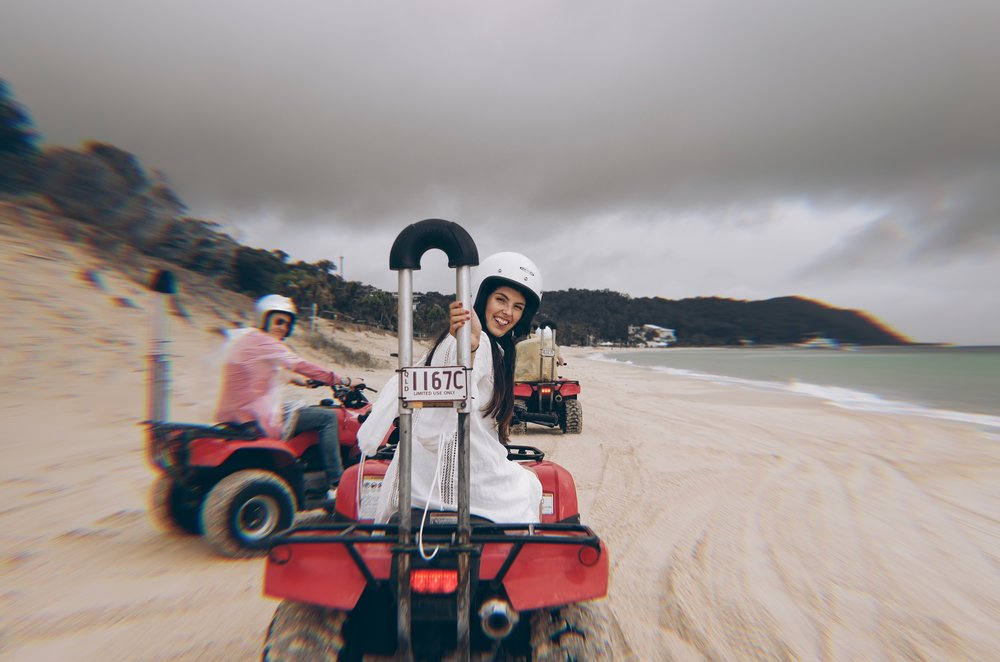 September down under in Brisbane Australia Moreton Island. Julia Friedman