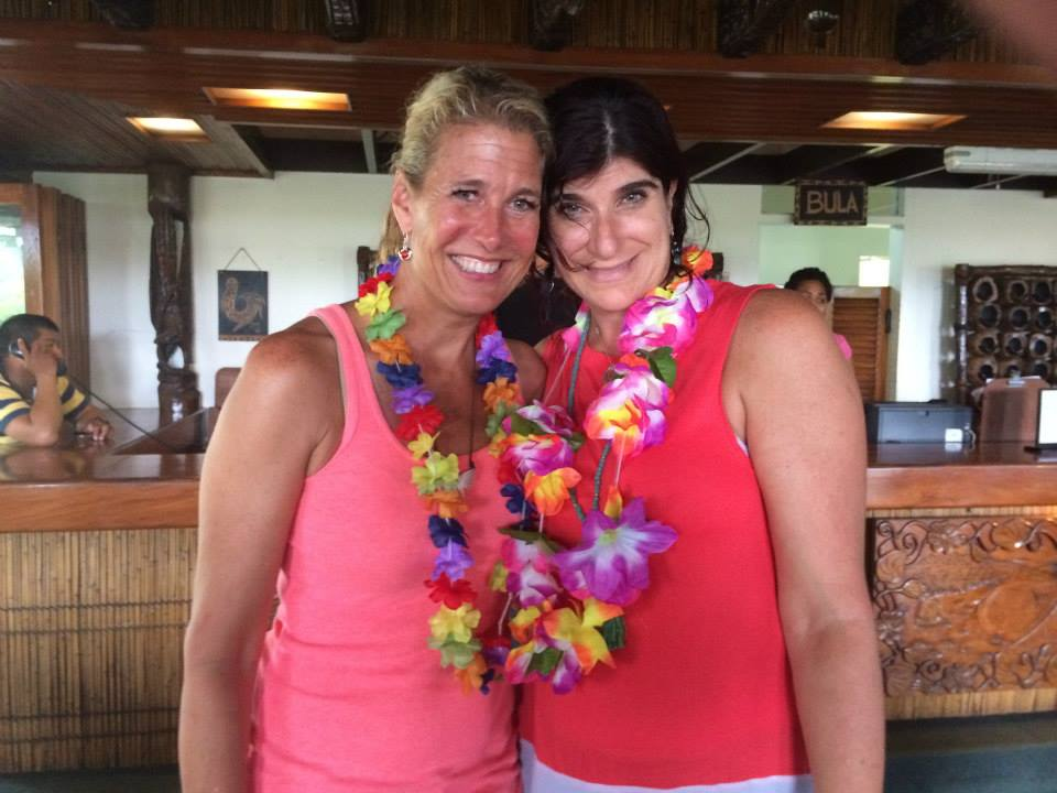 Writer's retreat in Fiji with Joanne Fedler, 2014