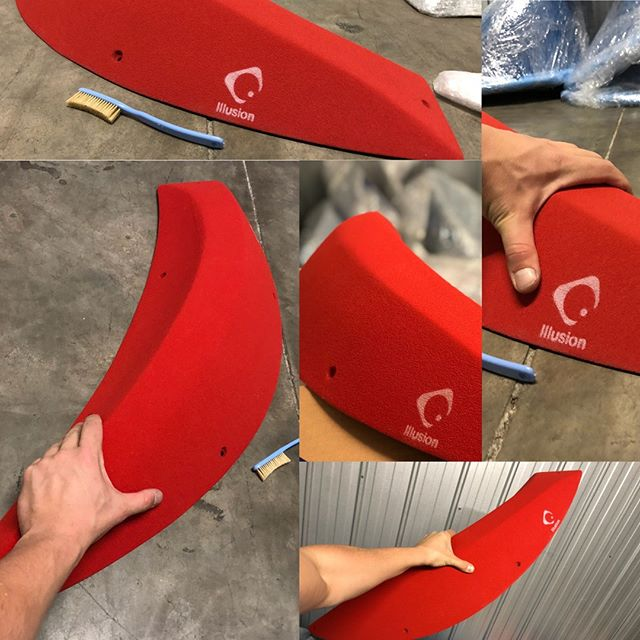 We're proud to introduce another new brand to the Australian climbing scene, Illusion Holds! Illusion focuses on high quality climbing holds and volumes, that encourage creativity in routesetting and climbing. Their volumes or macro holds as they're called are big, like really big! Don't believe us? See for yourself, check them out on @illusionholds  A full set in red is still avaialble as well as around half a set of blue volumes! Get in quick, not much stock left!  Contact us to find out more! . . . . . #Illusion #climbing #bouldering #climbingholds #gym#klettergriffe #rock #climbinglife #shaping#escalada #escalar #klettern #power#boulderinglife #doyouboulder#TimetoClimb #getstrong #climbinglove#neverstopclimbing #fit #fitness #training#climbingisfun#climbing_pictures_of_instagram#bouldering_pictures_of_instagram#climbing_is_my_passion #frictionaddiction #illusionvolumes #climbingvolumes #routesetting#bouldering #klettern #klettergriffe @illusionholds