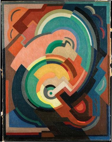 'Abstract Composition', Mainie Jellett, c.1929