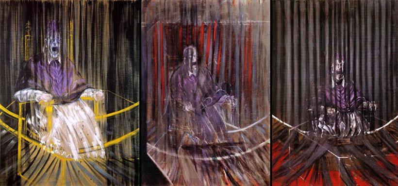 'Studies after Vélasquez Portrait of Pope Innocent X', Francis Bacon, 1940s—1960s