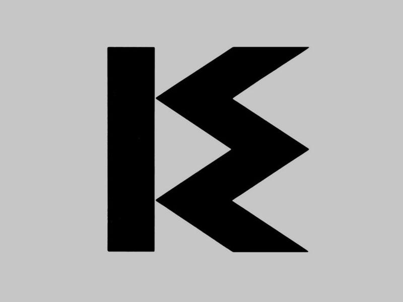 'KDW logo', Louis Le Brocquy, 1963