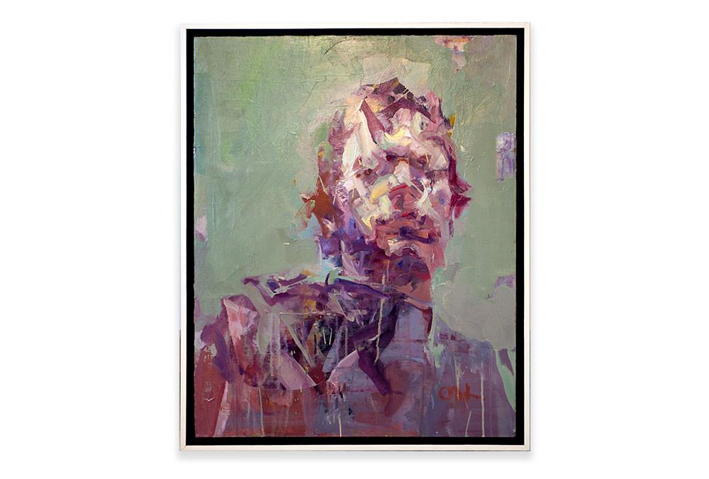 'Self Portrait', Cian McLoughlin ,  Oil on linen.