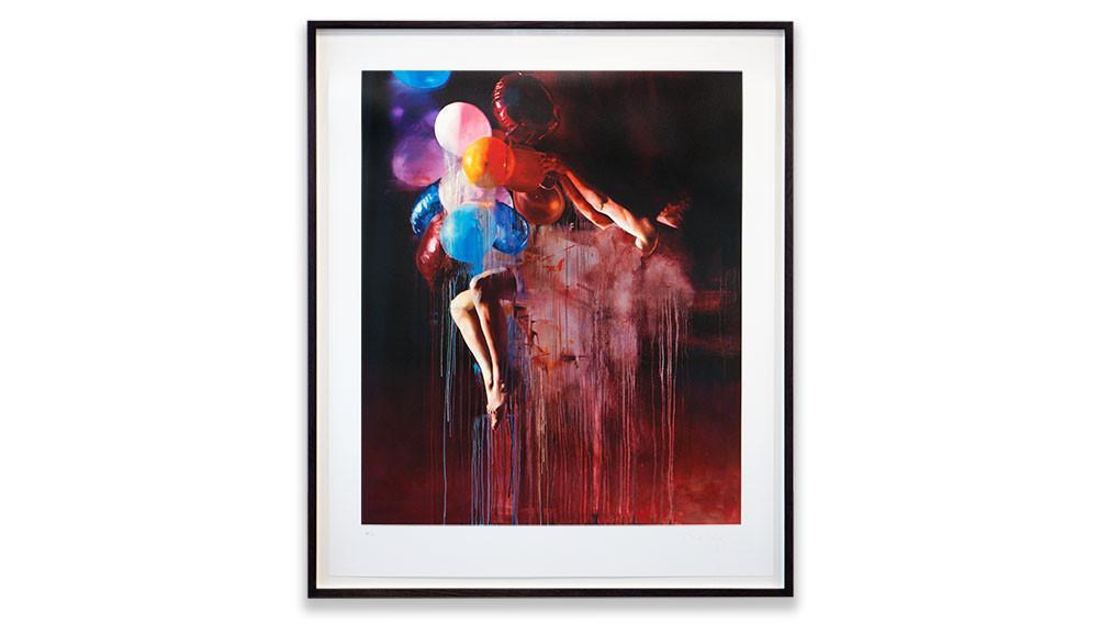 'Something Shiny Slips Away', Chloe Early, Archival pigment print.