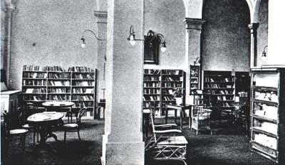 Library on Salvatorplatz -
