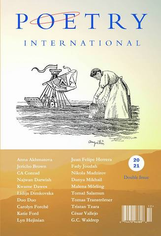 Poetry International - Poetry International is one of the oldest literary journals in the world solely dedicated to poetry and poetics from around the globe.