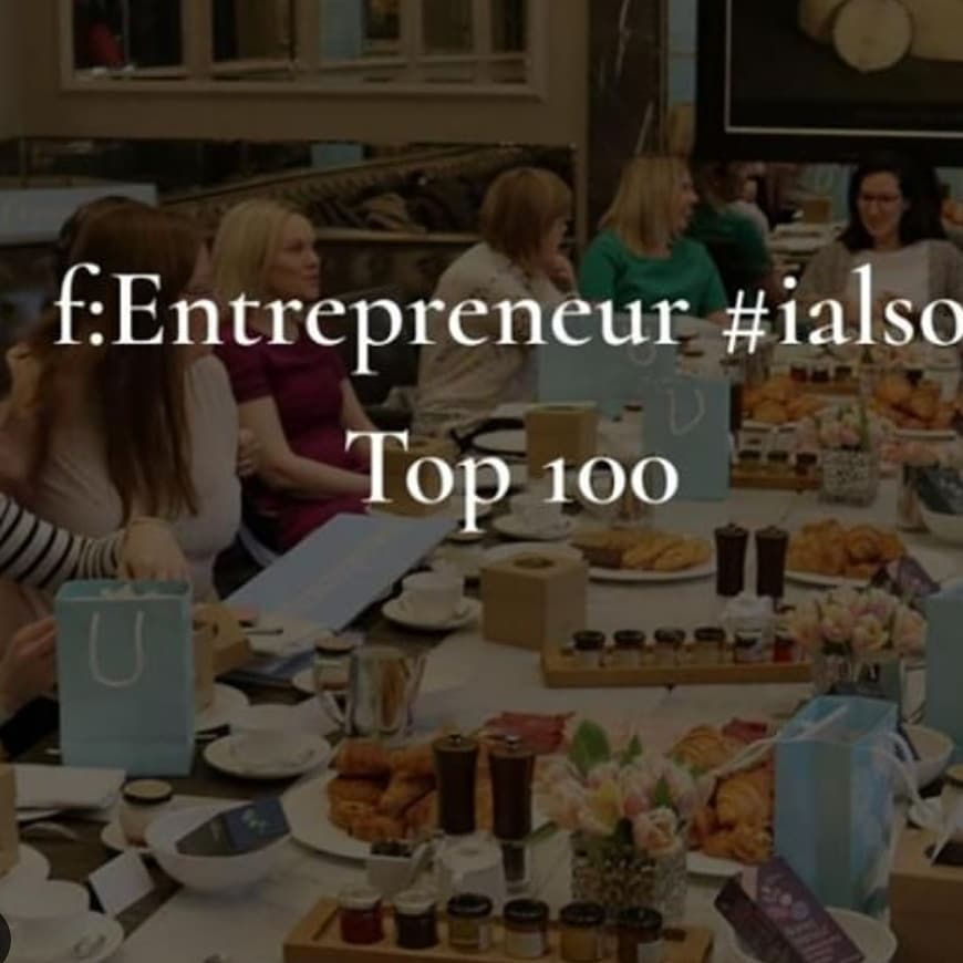 #ialso top 100 f:entrepreneurs 2019