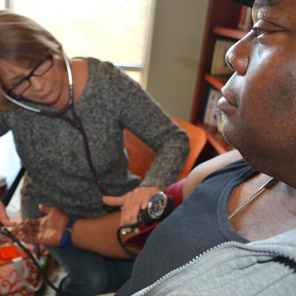 Mobile Medical Intervention Team - To help meet the needs of people living within the Association's apartment complexes — and across the Tulsa community — we offer our Mobile Medical Intervention Team. It provides primary patient care for people impacted by serious mental illness, a substance use issue and homelessness.
