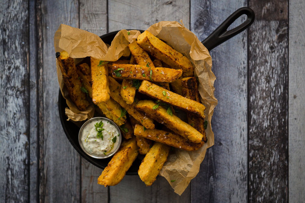 chickpea flour fries