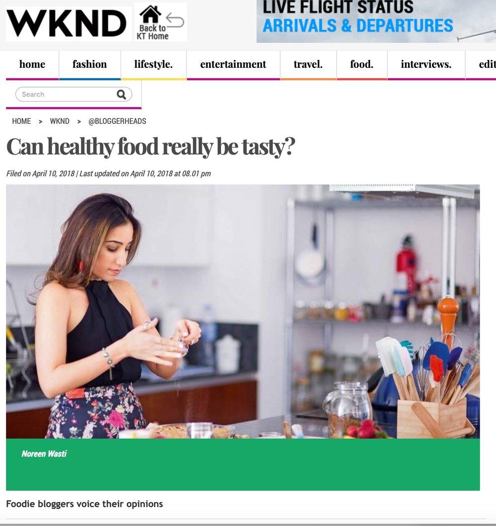 Khaleej Times, April 2018