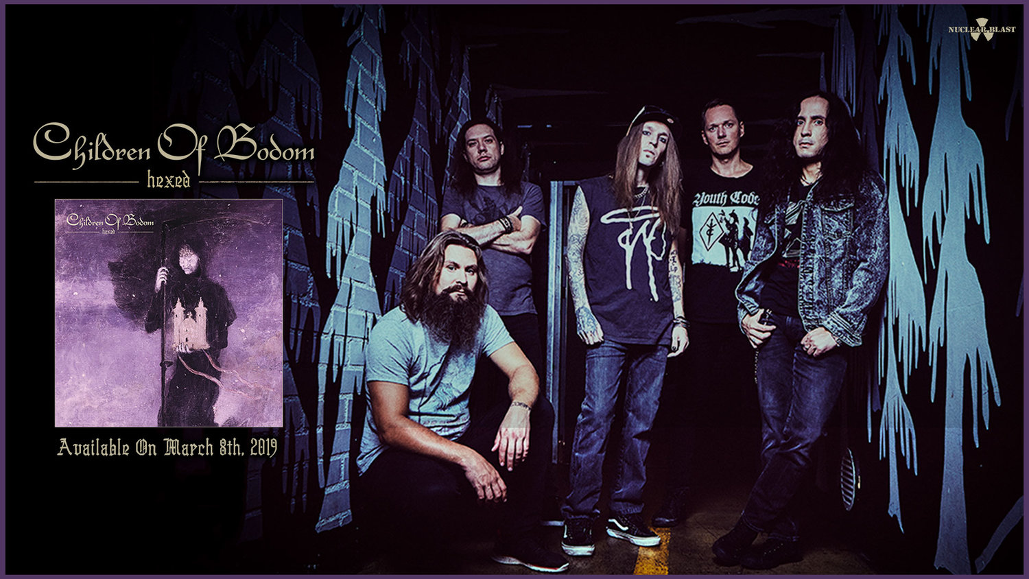 Children Of Bodom - Official Website - Hexed out now! - Tour Dates