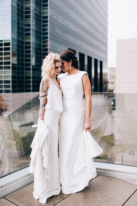 Art Hotel Lesbian Wedding Denver -1.jpg