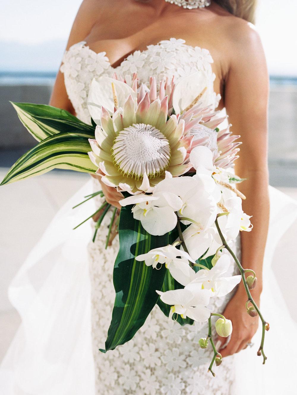 Tropical Bridal Bouquet in Salt Lake City