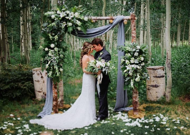 Forest Wedding INspiration Utah