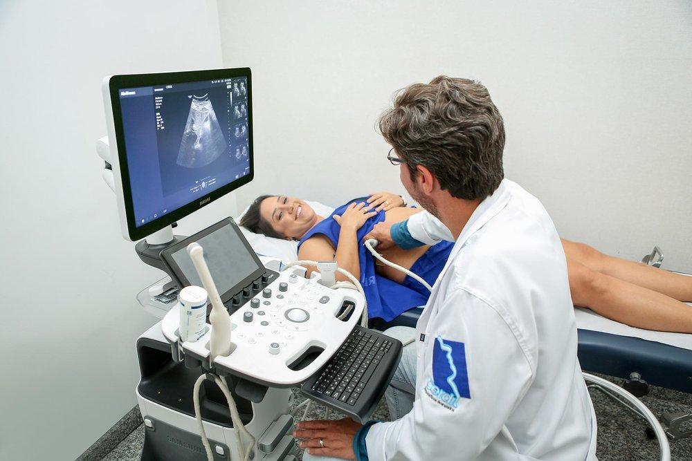 Exame de Ultrassonografia