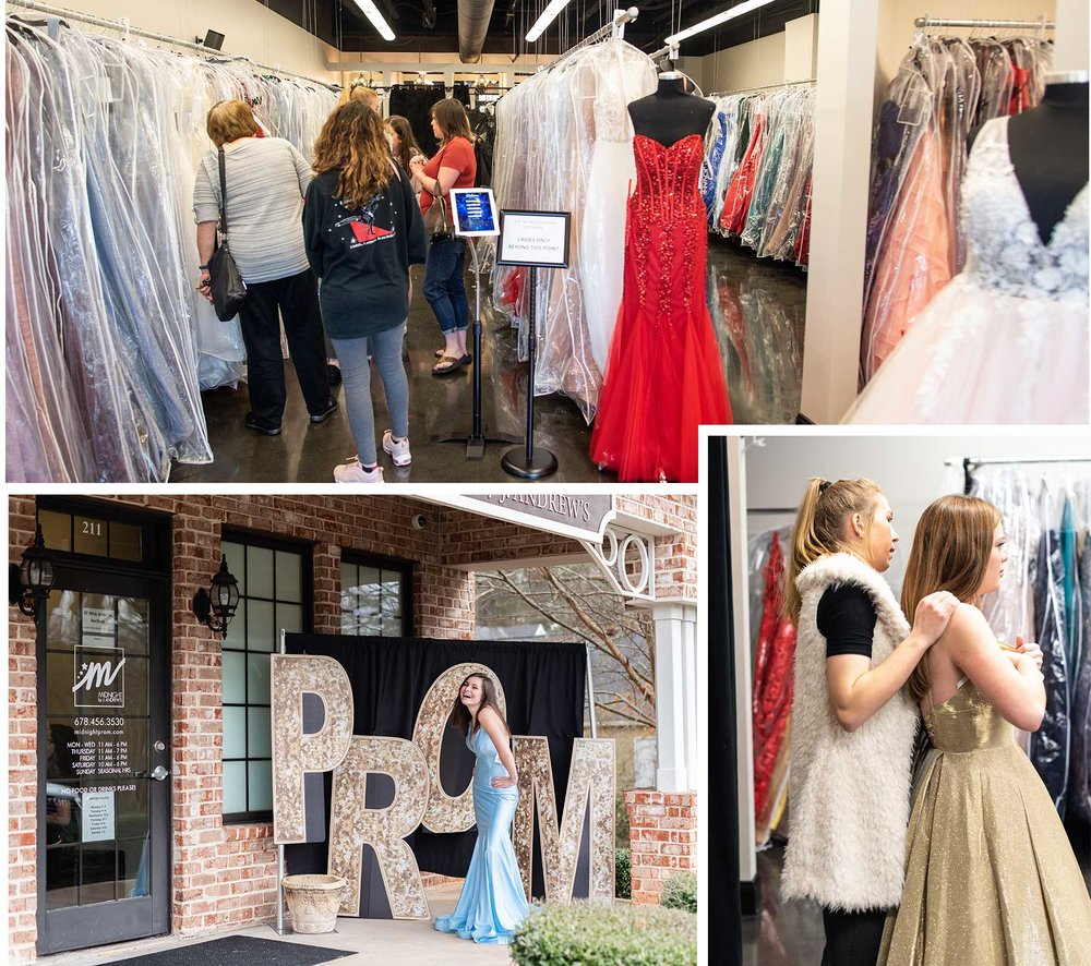Not sure of your prom style? - One of our prom stylists will help you choose a variety of looks to help you find