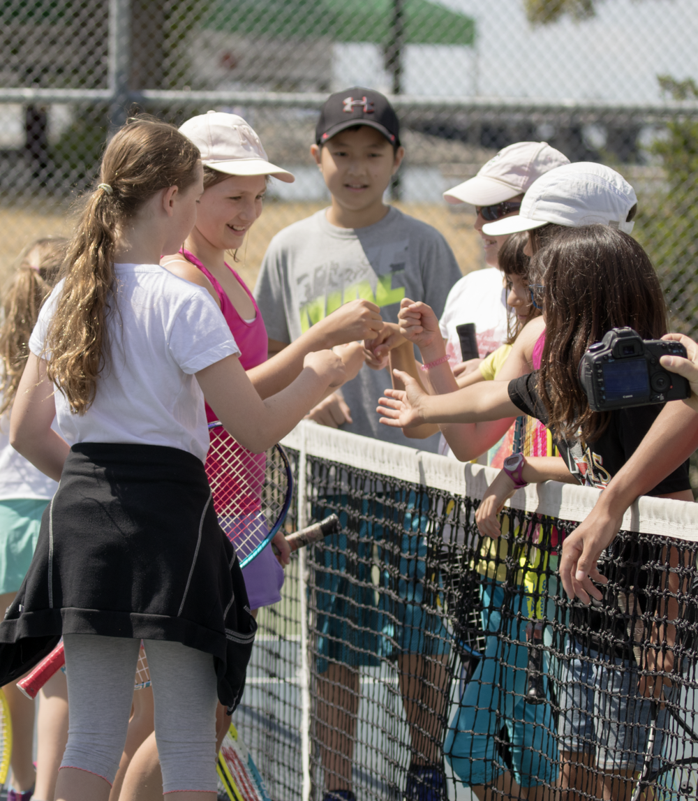 tennis clubs spring 2019 - Kid's tennis has never been easier to learn or more fun to play. The benefits of tennis are many. Getting your children into the sport at any age helps develop physical, social and mental skills, ones that are used on the Court and carried into real life.This program follows the Progressive Tennis Model, using appropriate nets, balls and racquets to develop fundamental skills. Players are grouped by skill level and past lesson experience. If a child in this program is capable of a higher level of play they can be moved to the Kid's Tennis Club. A Match and Skill assessment by the instructors would be required.