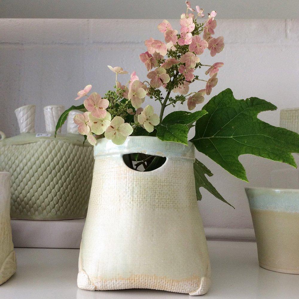 Vases - hand built mid range stoneware
