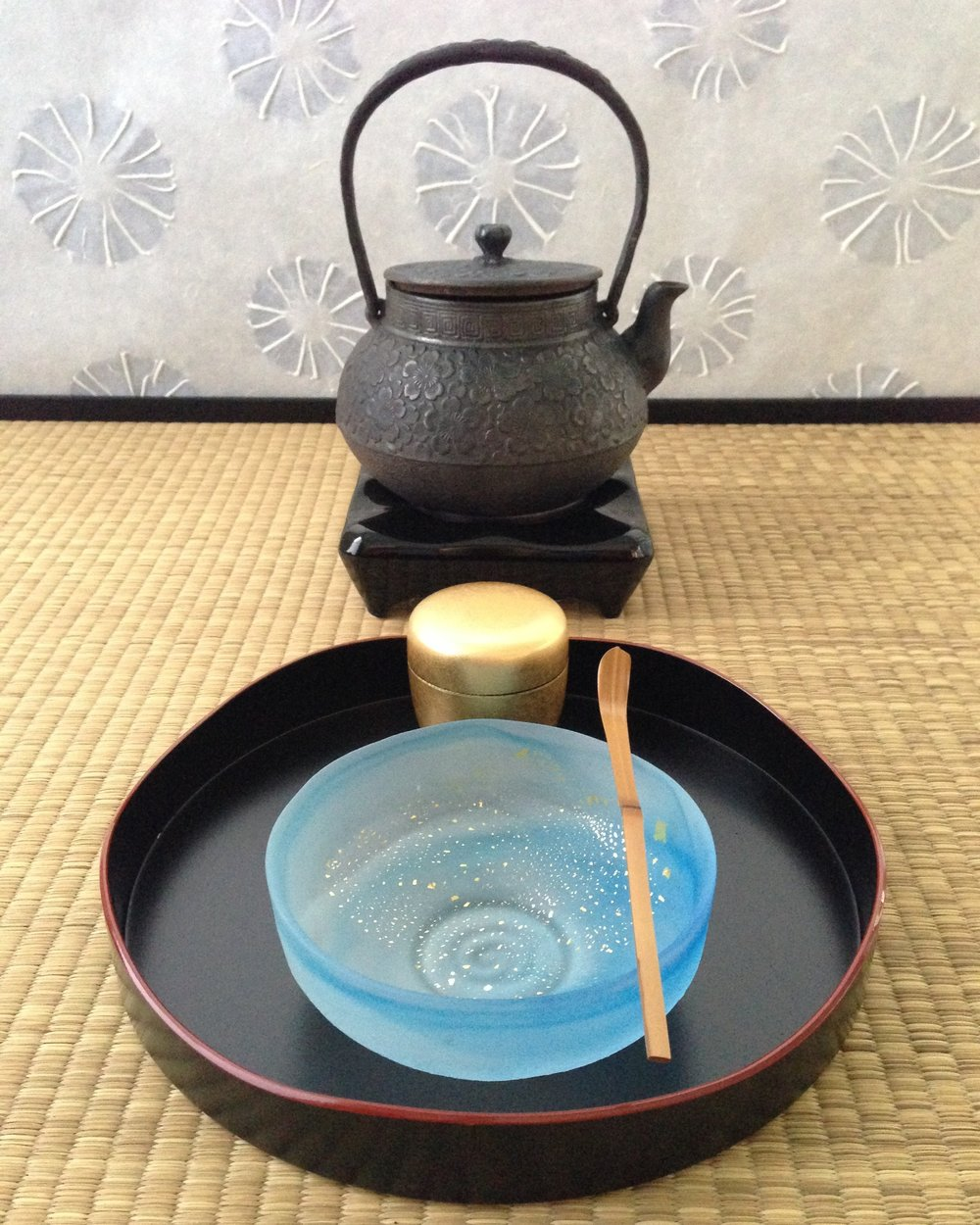 Utensils for the Bonryaku Temae