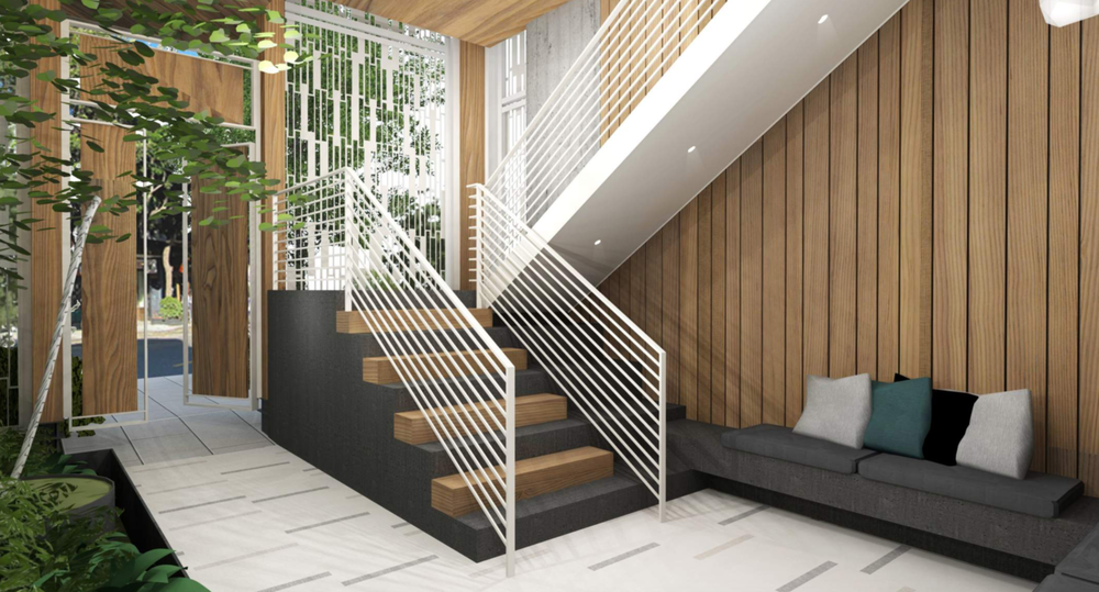 Truly unique to Capitol Hill, the composition and integration of each space at Solis has been carefully curated to evoke a sense of tranquility.