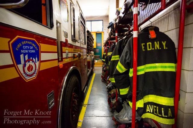 FDNY fire dept turnouts engine truck firehouse new york city manhattan