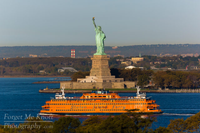 New York Icons city statue of liberty staten island ferry