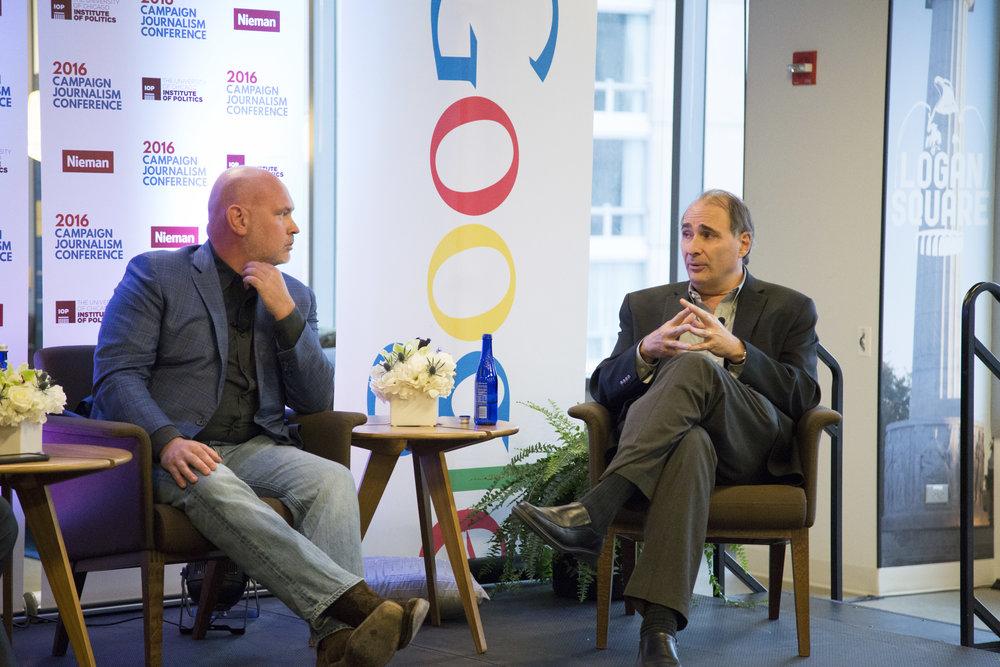 Steve Schmidt & David Axelrod