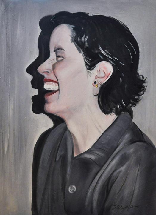 Carolyn Laughing