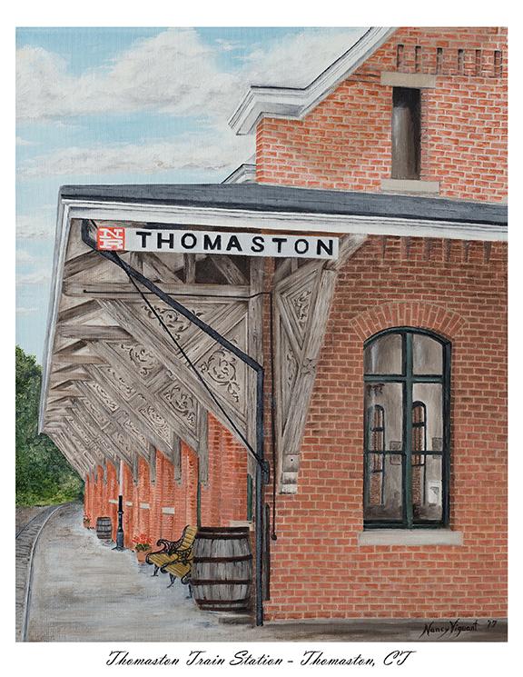 Thomaston Train Station
