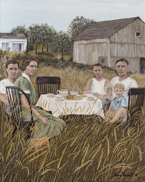 1927 Picnic on The Farm