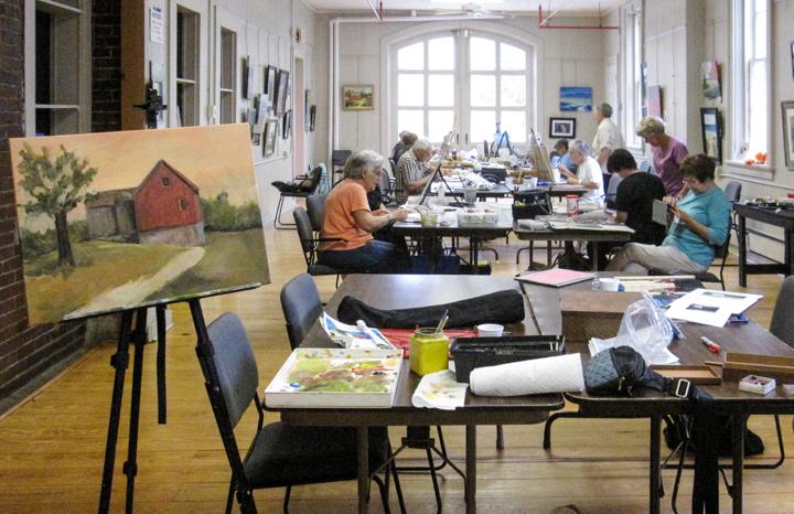 Open Studio Session — Photo by Patty MacIver
