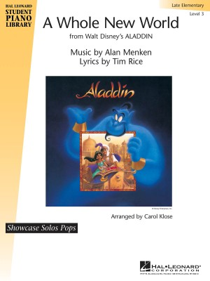 A Whole New World, Hal Leonard Student Piano Library Showcase Solos Pops  Level 3 (Late Elementary)