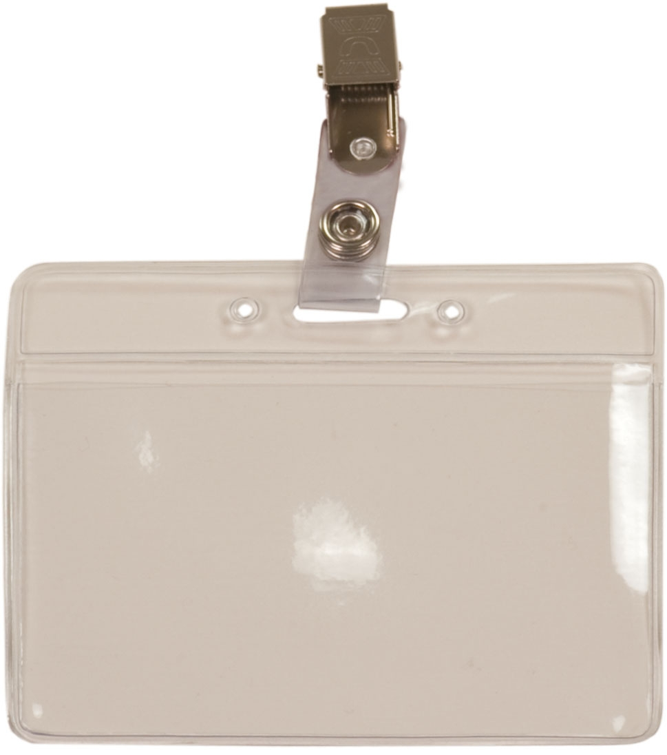 Badge Holder Clip