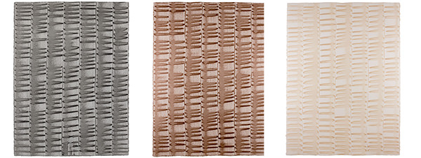 Low Tide hand painted sheet wallpaper comes in three colorways: smoke, copper, and blush