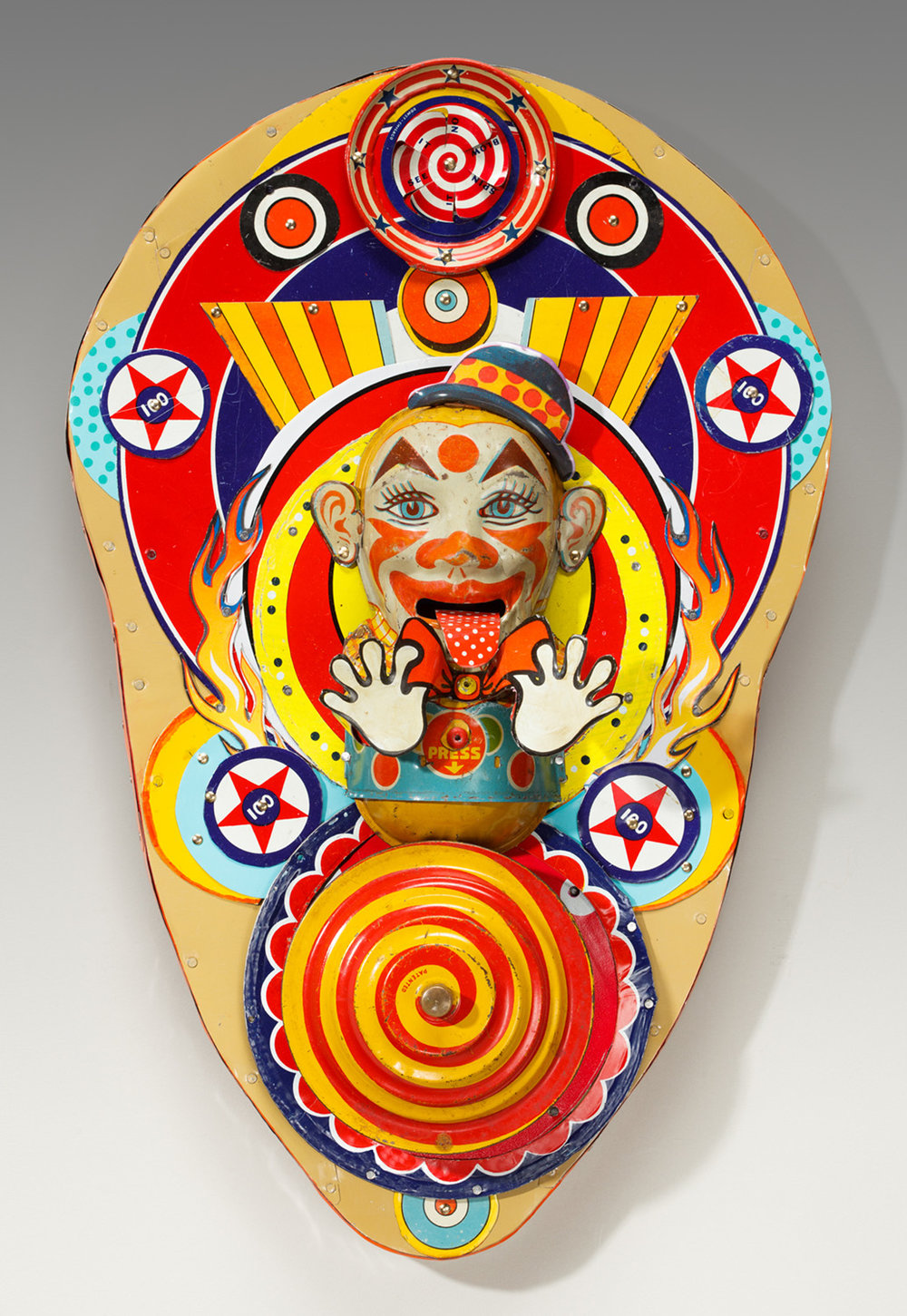 "Sick Clown  15""l x 9.5""w x 2.5""d"