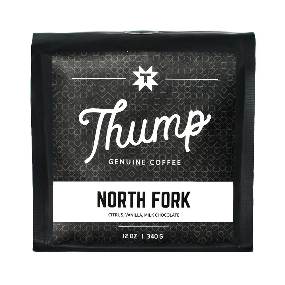 North Fork - BLENDVaries seasonallyCUPPING NOTESCitrus, Vanilla, Milk Chocolate