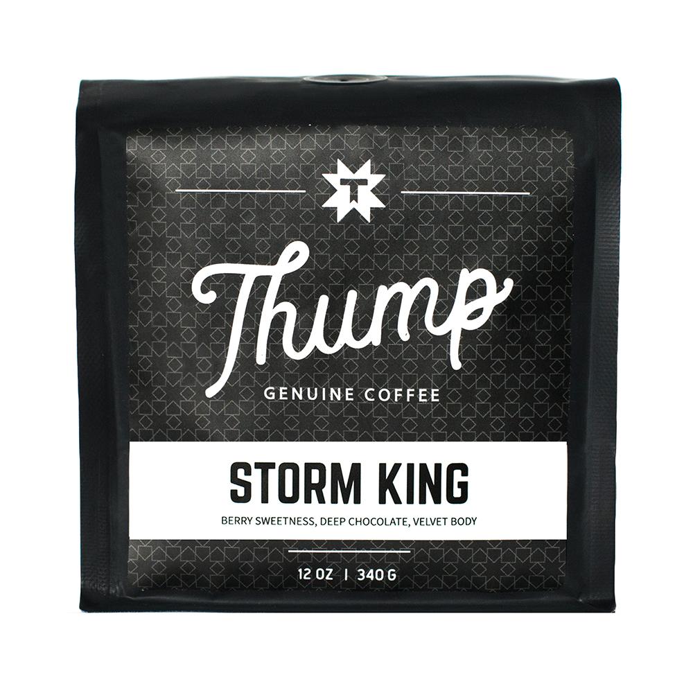 Storm King - CLASSIC ESPRESSOA classic bright espresso.CUPPING NOTESBerry Sweetness, Deep Chocolate, Velvet Body
