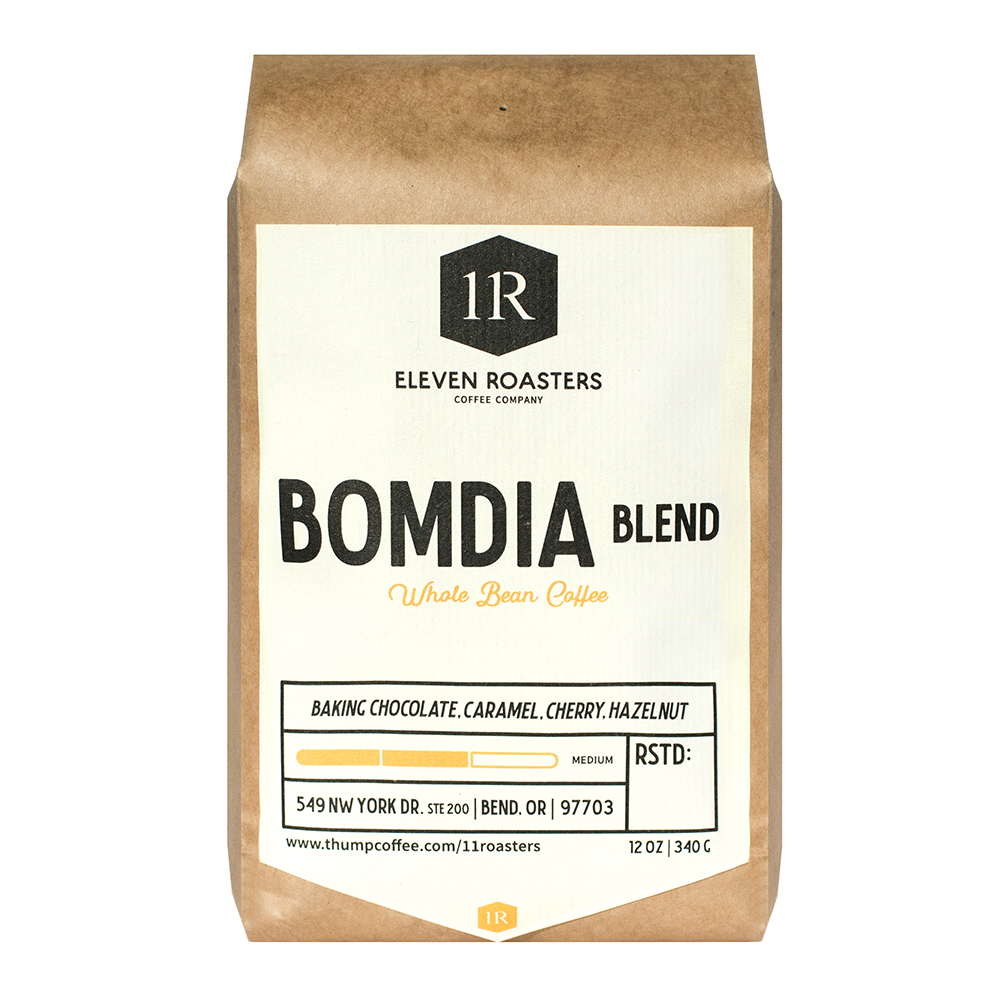 BOMDIA Blend - BLENDBlend: Brazil, Colombia, & Natural EthiopiaROAST LEVELMediumCUPPING NOTESBaking Chocolate, Caramel, Cherry, Hazelnut