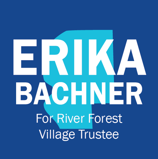 Erika Bachner For River Forest Village Trustee