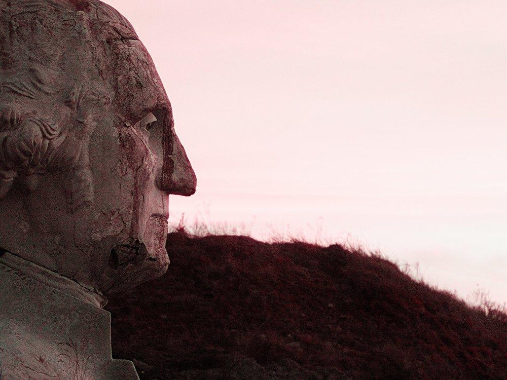 President's Park Abandoned Heads   Williamsburg, Virginia