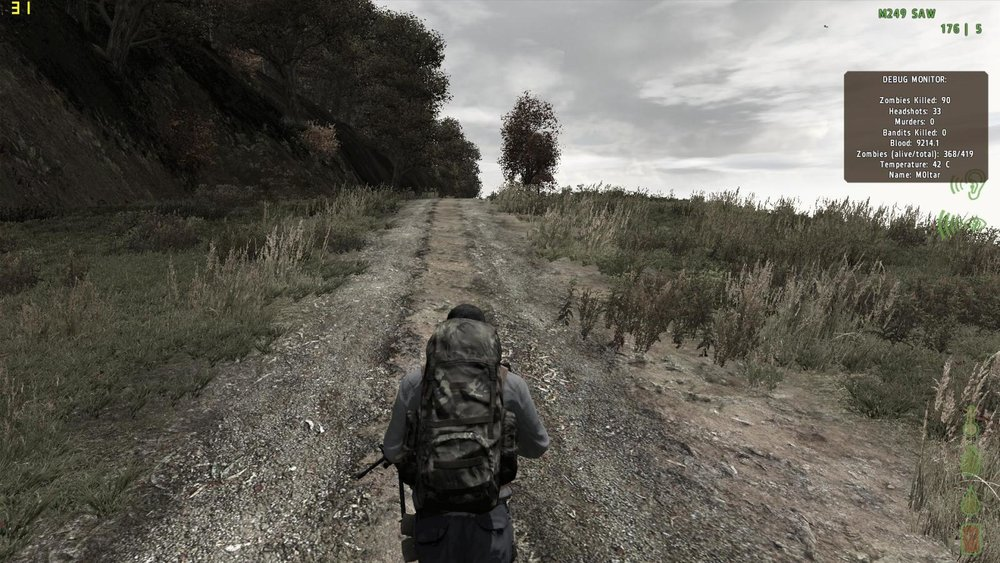 You will run along these roads for hours on end for the taste of 30 seconds of action